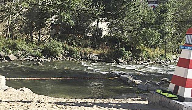 Vista de la Cala Laurediana.