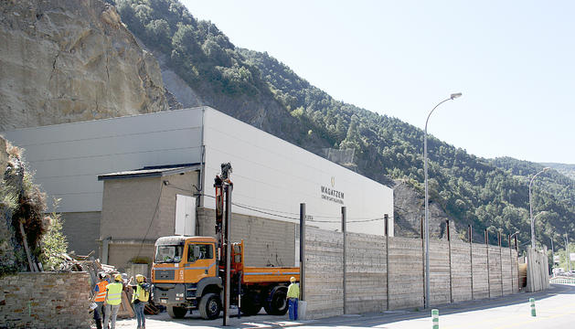 Les obres a la Portalada s'allargaran un any.