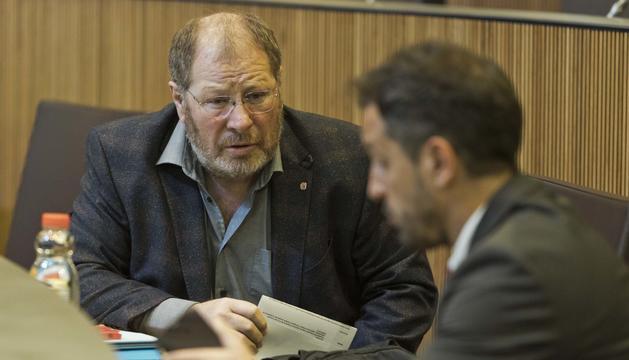 El conseller general del PS, Jordi Font.
