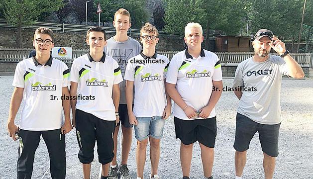 Guanyadors del Campionat d'Andorra en categoria masculina.