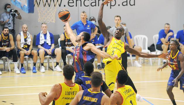 El MoraBanc es queda sense forces i cau contra el Barça (82-90)