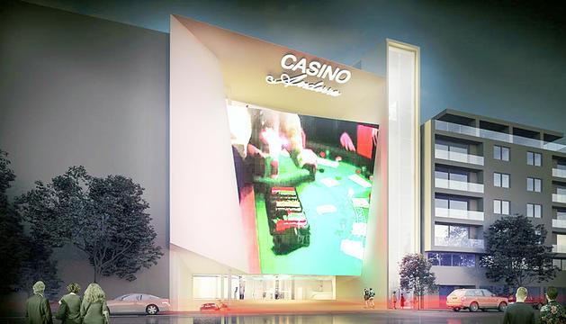 Simulació del Casino de les Valls, la proposta presentada per Jocs SA.
