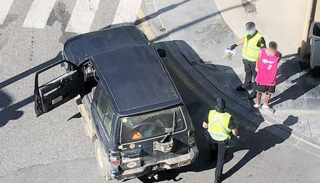 El jove detingut ahir a Escaldes.
