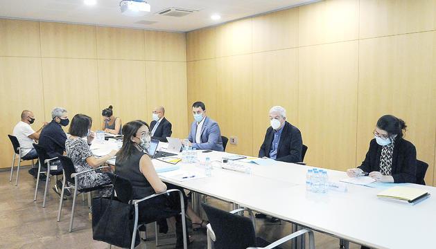Reunió del ConsellEconòmic iSocial.