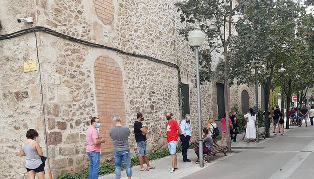Cues per realitzar el cribratge a la Seu d'Urgell.