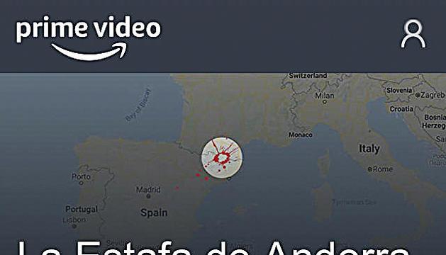 Captura de pantalla de l'app Prime Video.