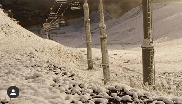 Primera nevada de la temporada