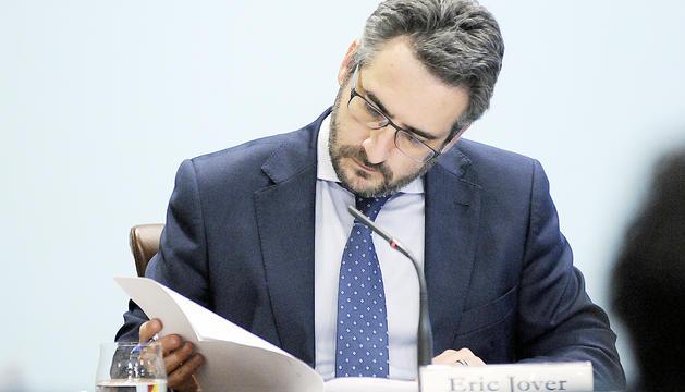 El ministre portaveu, Eric Jover.
