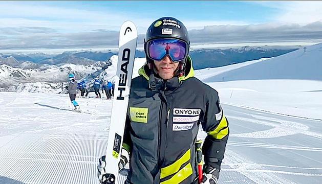 Joan Verdú ha tornat a esquiar a l'Stelvio.