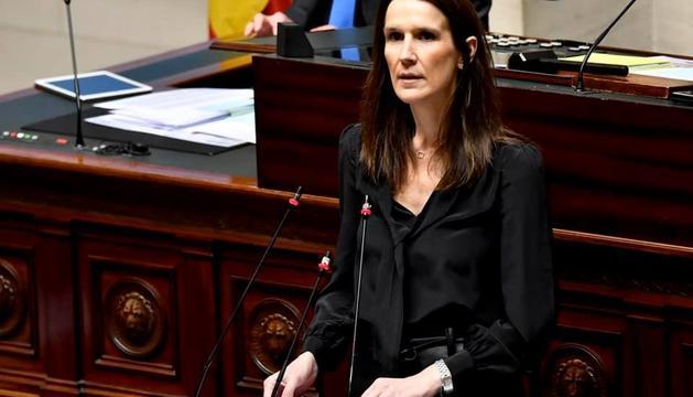 La primera ministra belga, Sophie Wilmes