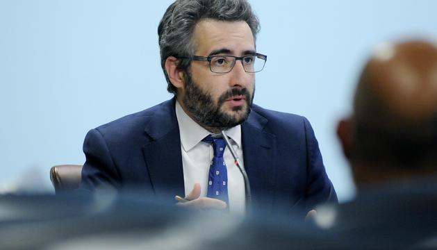 El ministre Portaveu, Eric Jover,