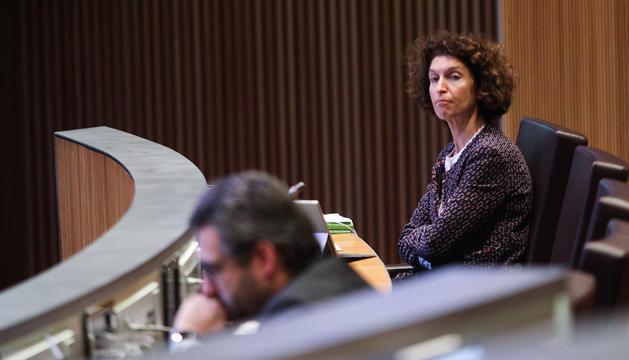 Maria Ubach en seu parlamentària