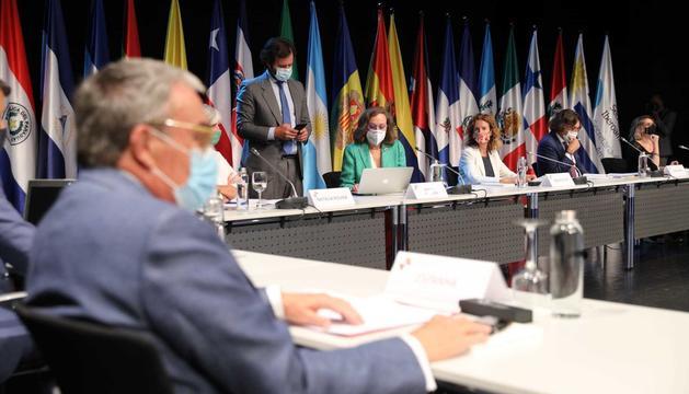La reunió ha estat presidida per Silvia Calvó i Rebeca Grynspan