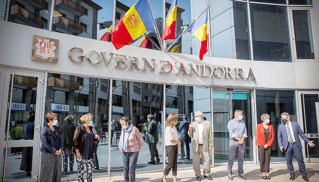 Vilarrubla debat amb els antics ministres els reptes de futur