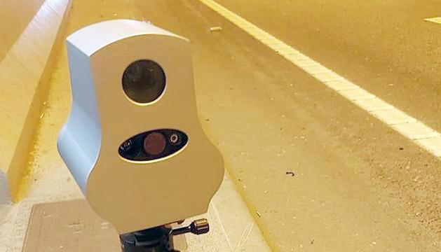 Un dels radars que van provar ahir al matí.