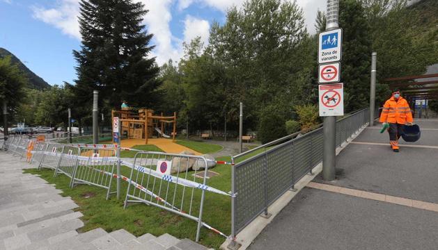 Un parc tancat