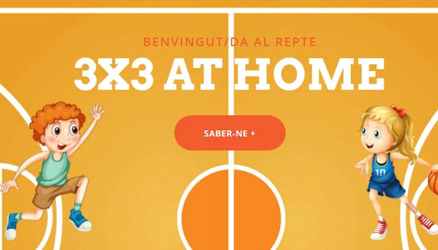 El projecte '3x3 at home'.
