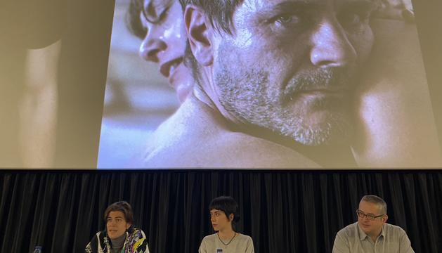 La presentació de la pel·lícula 'L'ofrena'