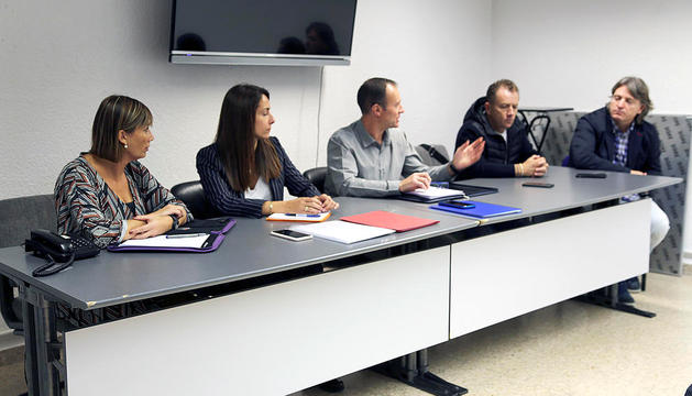 Reunió de la Unió de Comerciants de Tabac a Andorra.