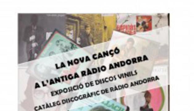 La nova cançó a través dels discos de la col·lecció de l'antiga Radio Andorra