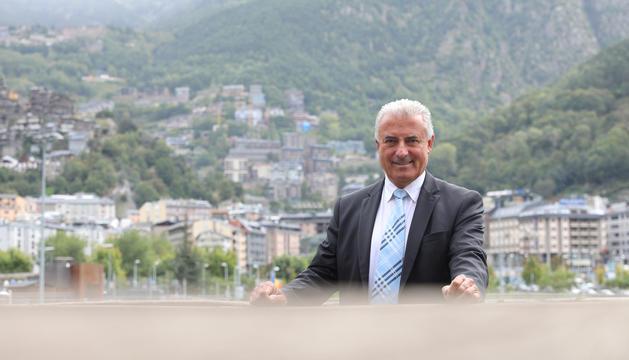 El president de la Federació de Caça i Pesca, Josep Maria Cabanes.