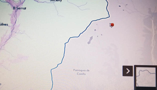 El mapa d'Ordino.