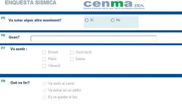 L'enquesta del Cenma