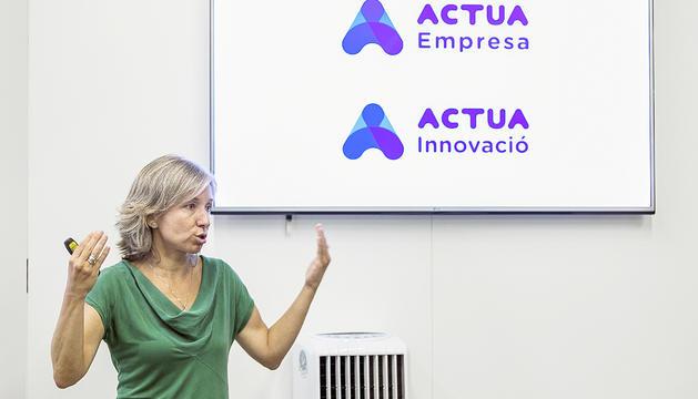 La directora d'Actua Empresa,Judith Hidalgo.