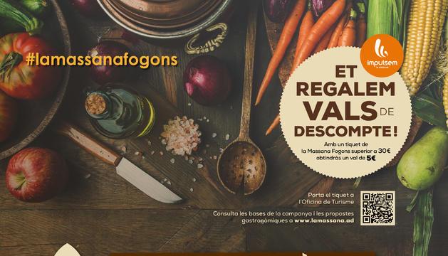 Cartell de les jornades de cuina de tardor la Massana Fogons