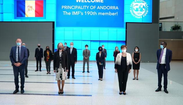 La benvinguda de l'FMI a Andorra