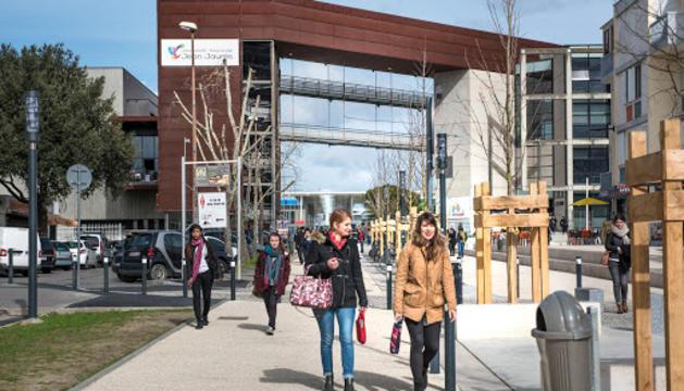 El Campus du Mirail a Tolosa.