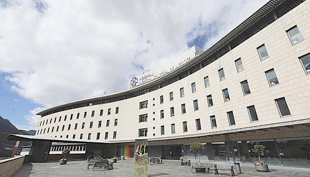 La planta de cirurgia de l'hospital ha estat clausurada i aïllada.