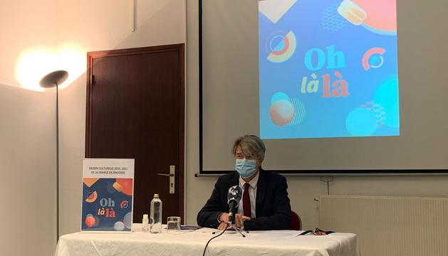 L'ambaixador de França a Andorra, Jean-Claude Tribolet.