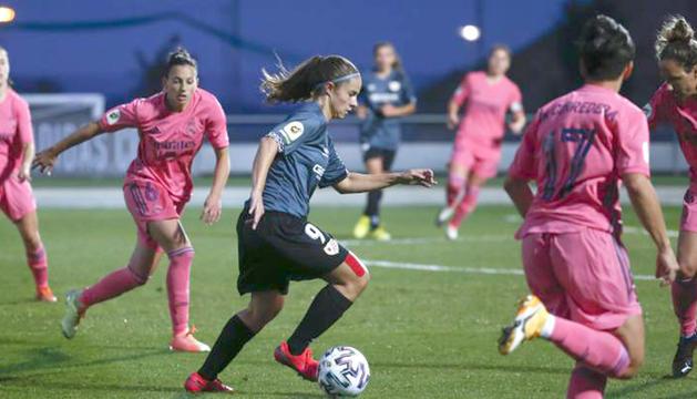 Tere Morató va debutar a la màxima categoria del futbol femení.