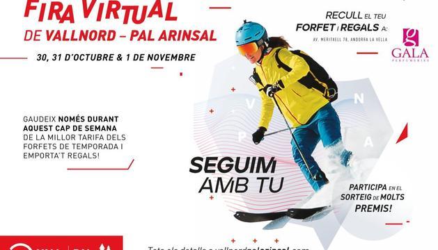 Vallnord organitza una fira virtual amb forfets a preu rebaixat