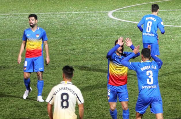 Un FC Andorra de menys a més empata contra l'Espanyol B (2-2)