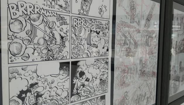 El museu la Massna Còmic acull a 'Superlópez'