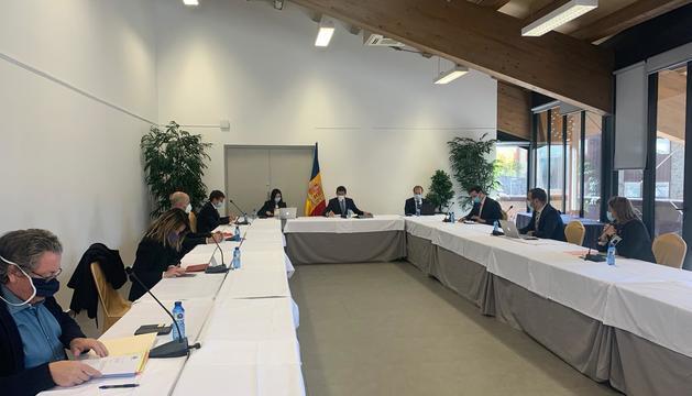 La sessió del comú d'Ordino d'avui