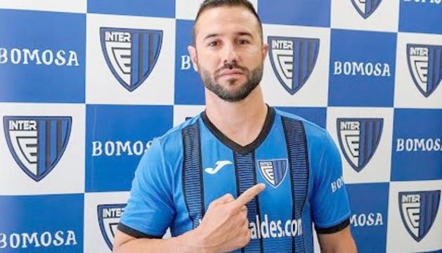 José Rodríguez, un reforç de luxe per a l'equip escaldenc.