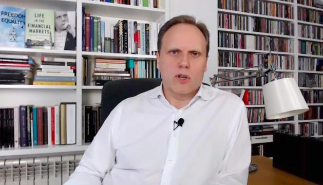 El doctor en Economia Daniel Lacalle.