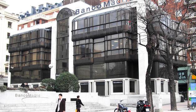 La seu de Banco Madrid.