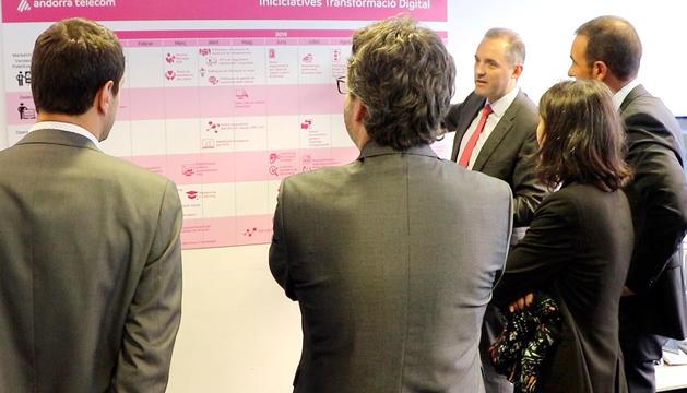 Iniciatives de transformació digital d'Andorra Telecom