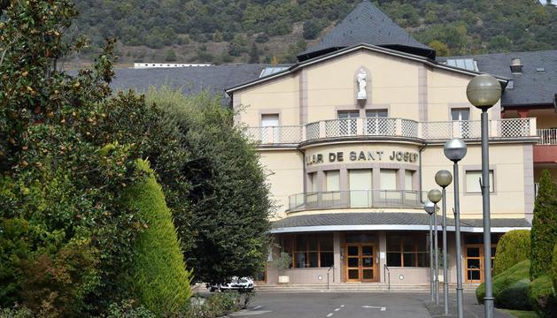 L'entrada de la Residència Sant Josep.