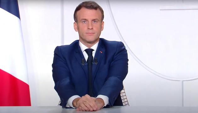 Emmanuel Macron s'ha adreçat als francesos aquest vespre