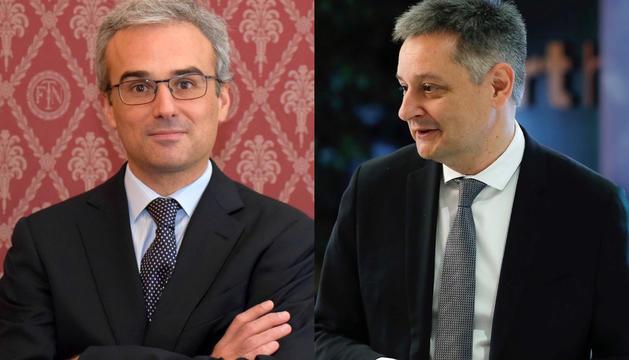 Els nous consellers independents de MoraBanc, José Manuel Lara i Gilbert Saboya.
