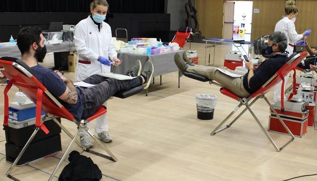 Donacions de sang aquesta setmana al Prat del Roure