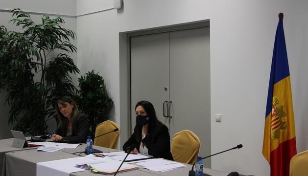 La sessió del comú d'Ordino