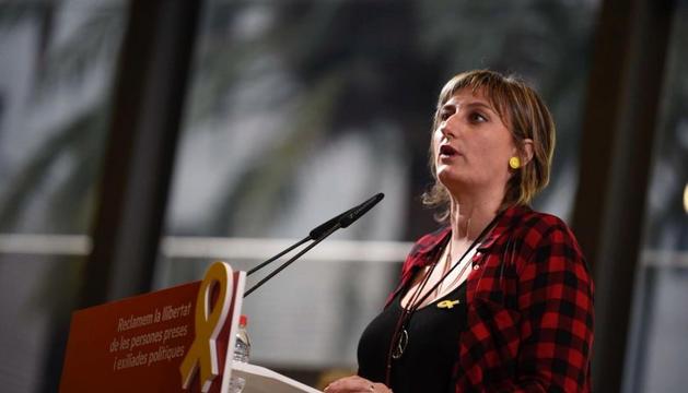 La consellera de Salut del l'executiu català, Alba Vergés.