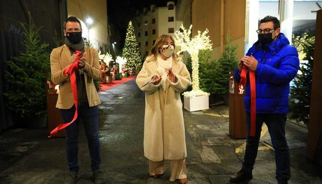 La inauguració del Poblet de Nadal, aquest vespre.