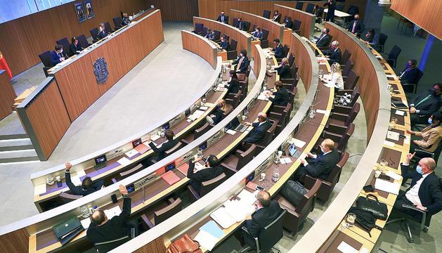 La darrera sessió del ple del Consell General.